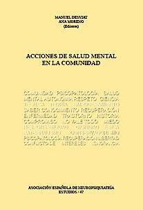 Portada del libro 9788492848416 Acciones de Salud Mental en la Comunidad