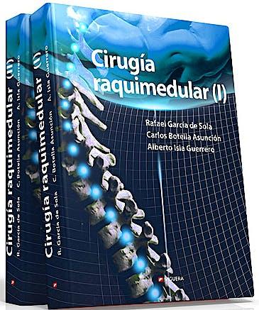 Portada del libro 9788492931262 Cirugía Raquimedular, 2 Vols.