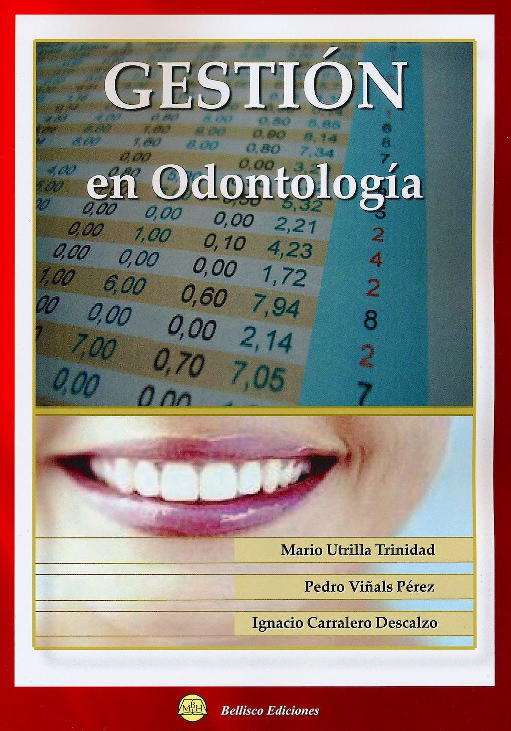 Portada del libro 9788492970063 Gestión en Odontología