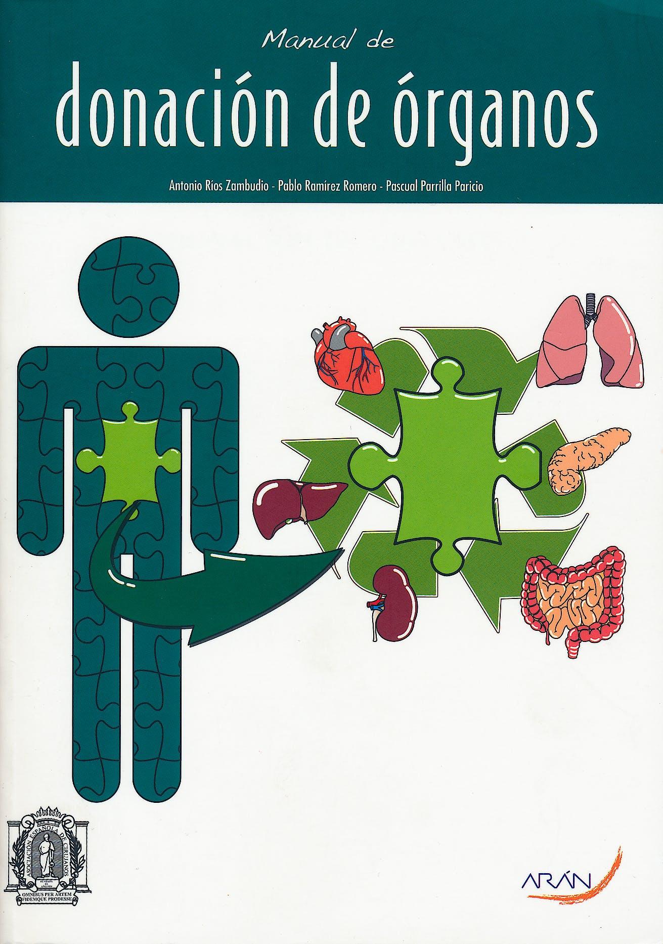 Portada del libro 9788492977338 Manual de Donacion de Organos