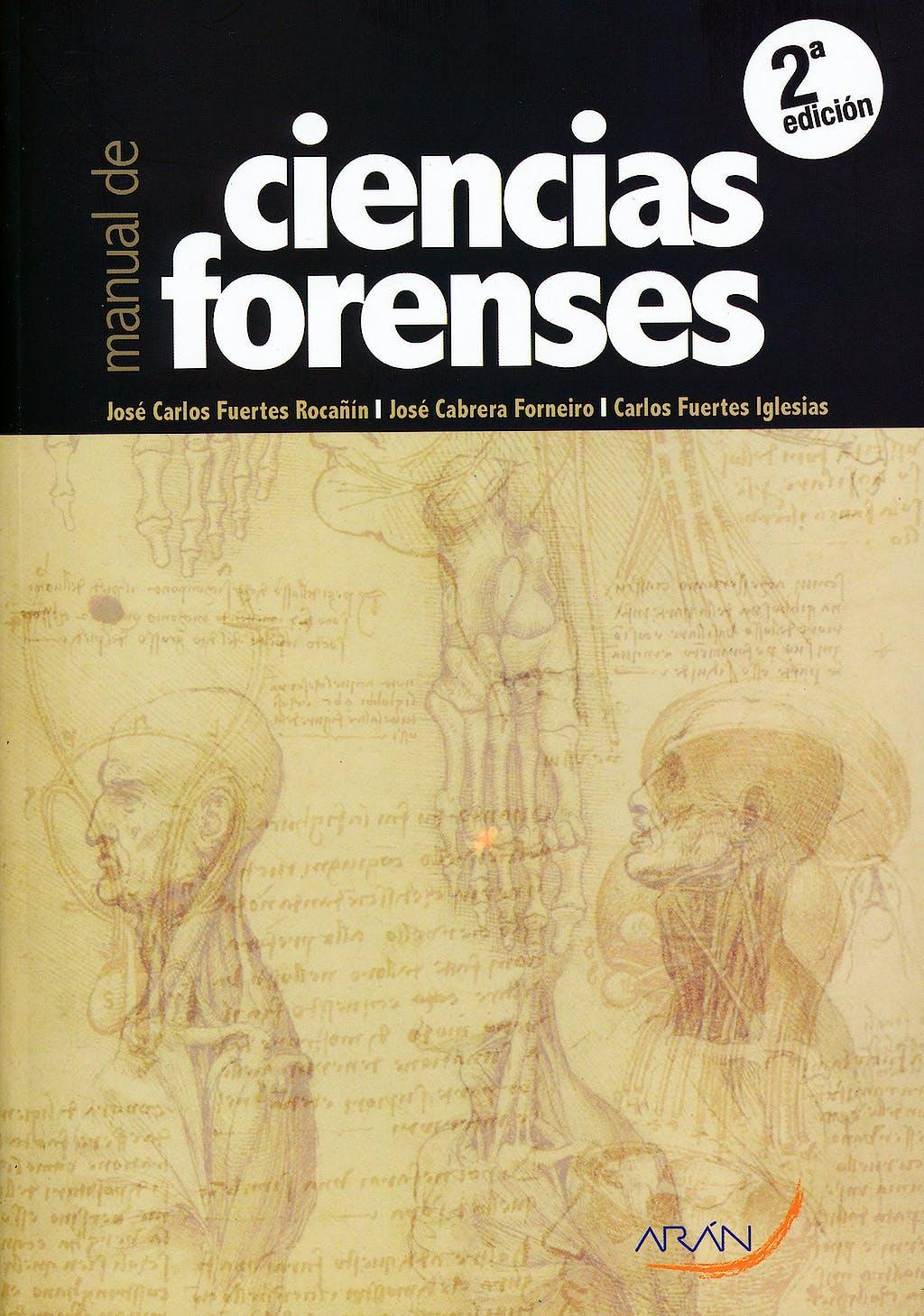 Portada del libro 9788492977369 Manual de Ciencias Forenses