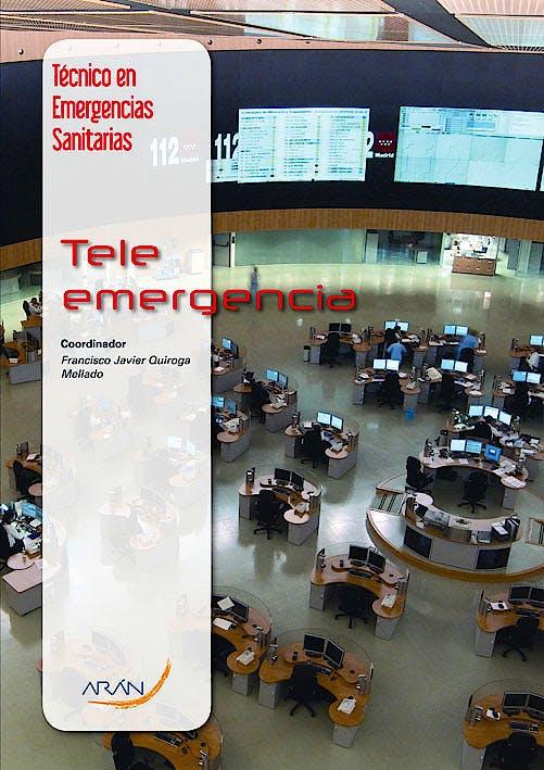 Portada del libro 9788492977536 Teleemergencias (Tecnico en Emergencias Sanitarias)