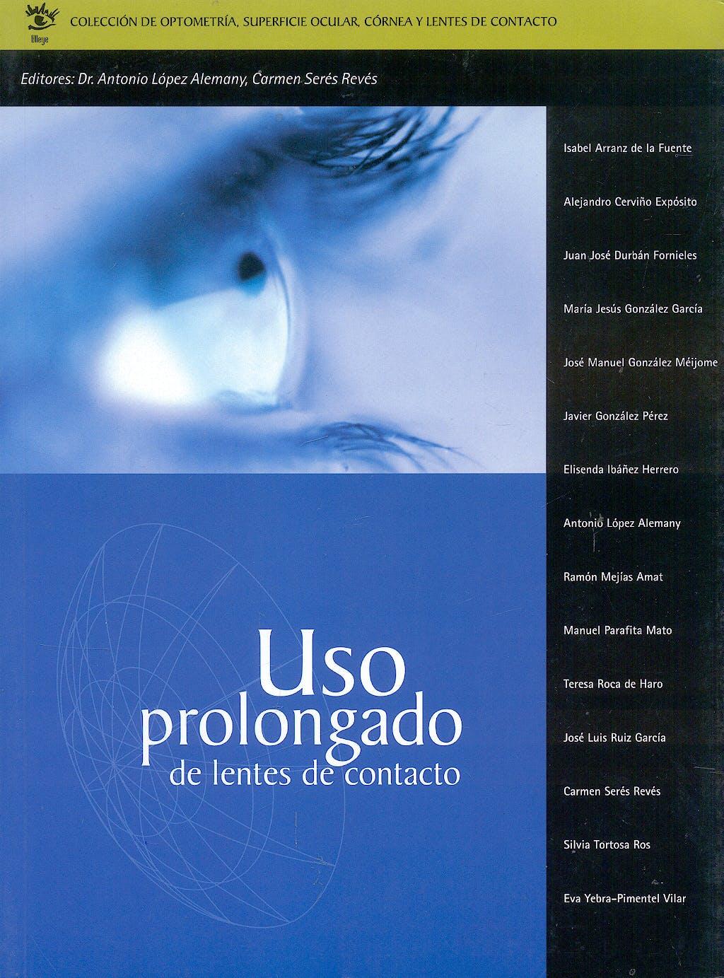 Portada del libro 9788493082819 Uso Prolongado de Lentes de Contacto