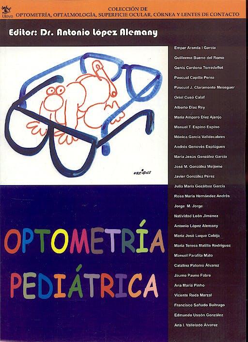 Portada del libro 9788493082826 Optometría Pediátrica