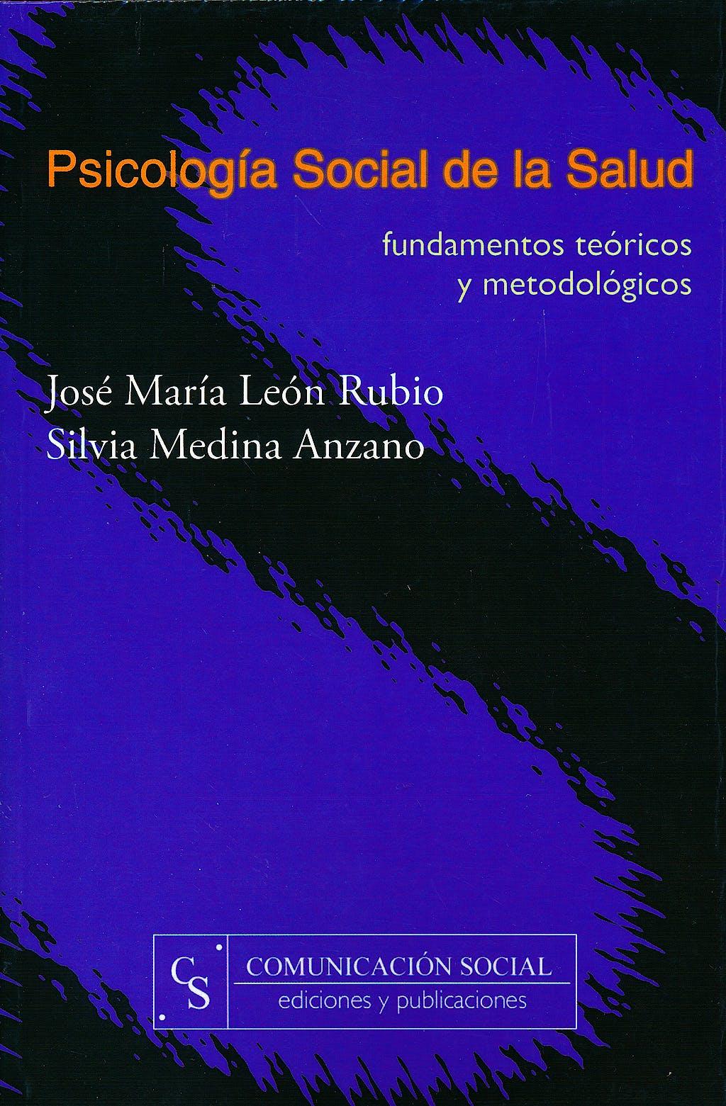 Portada del libro 9788493225186 Psicologia Social de la Salud. Fundamentos Teoricos y Metodologicos