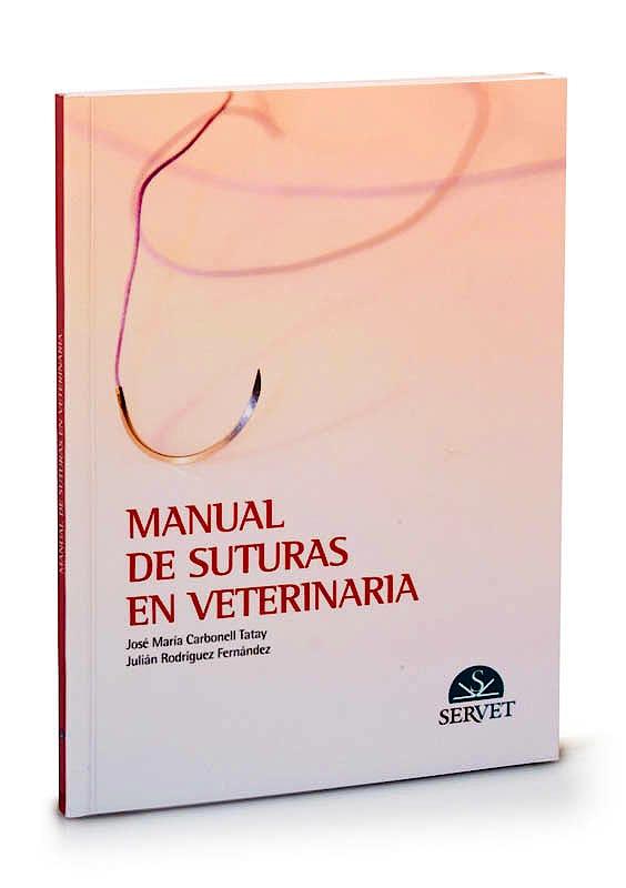Portada del libro 9788493292157 Manual de Suturas en Veterinaria