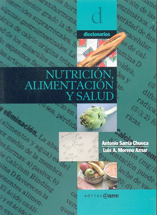 Portada del libro 9788493312206 Diccionario de Nutrición, Alimentación y Salud
