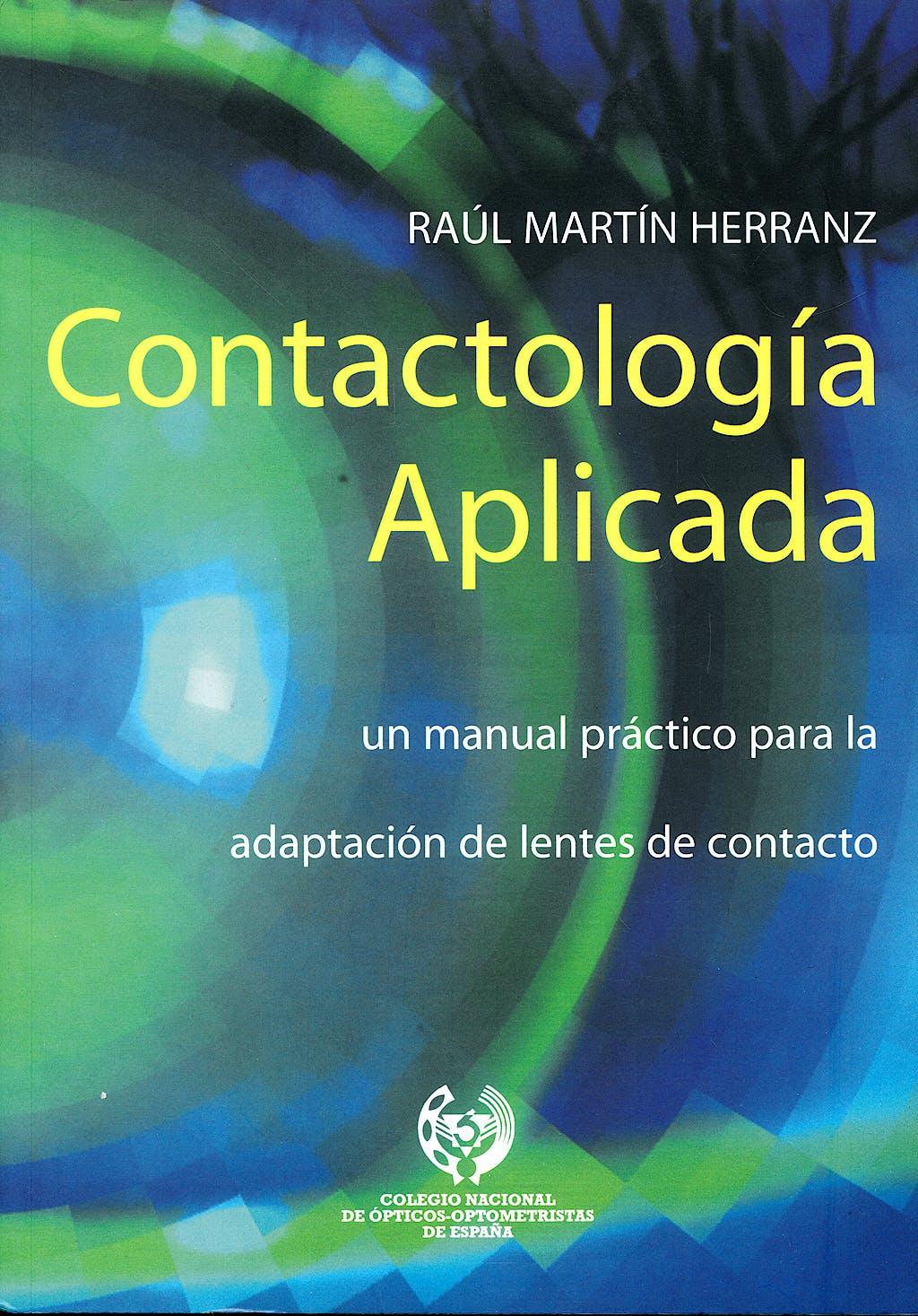 Portada del libro 9788493356958 Contactologia Aplicada
