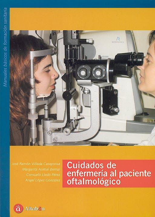 Portada del libro 9788493357641 Cuidados de Enfermeria al Paciente Oftalmologico