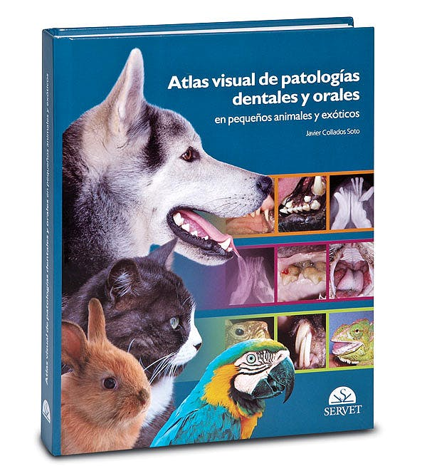 Portada del libro 9788493597160 Atlas Visual de Patologias Dentales y Orales en Pequeños Animales y Exoticos