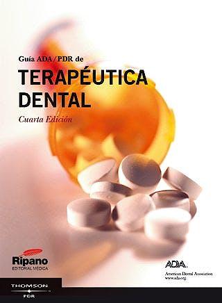 Portada del libro 9788493675608 Guía ADA/PDR de Terapéutica Dental