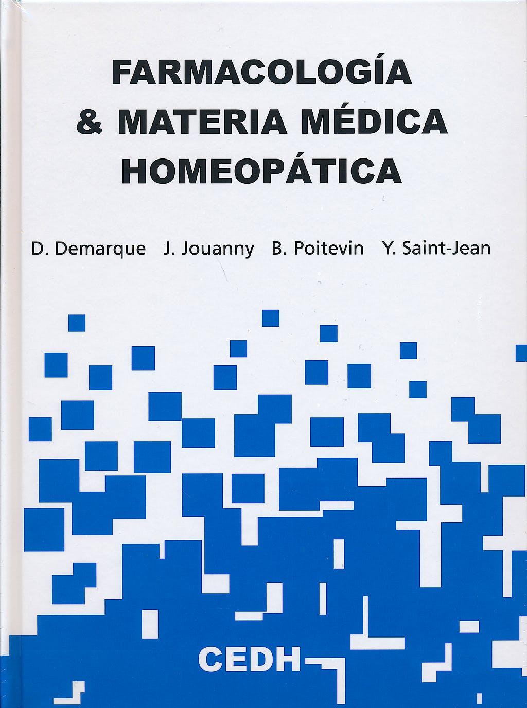 Portada del libro 9788493819804 Farmacologia y Materia Medica Homeopatica