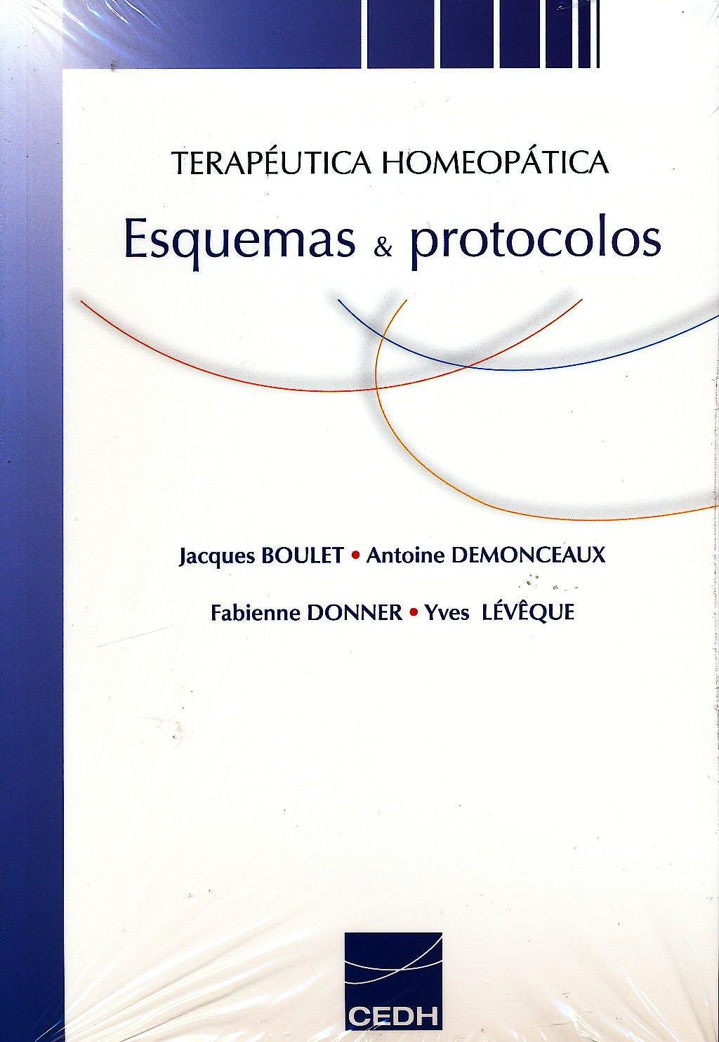 Portada del libro 9788493819828 Terapeutica Homeopatica. Esquemas y Protocolos