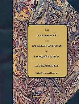 Portada del libro 9788493849832 Una Investigacion sobre las Causas y los Efectos de las Variolae Vaccinae (Edicion Lujo)