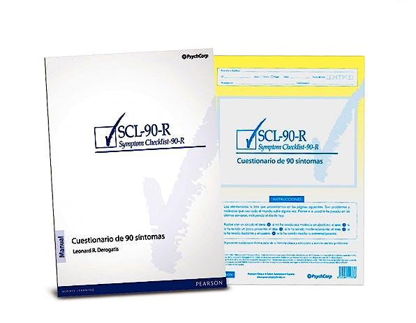 Portada del libro 9788493882501 SCL-90-R. Test de los 90 Síntomas (Juego Completo)