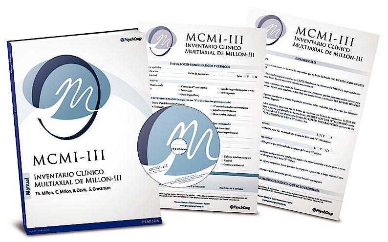 Portada del libro 9788493882587 MCMI-III. Inventario Clinico Multiaxial de Millon (Juego Completo)