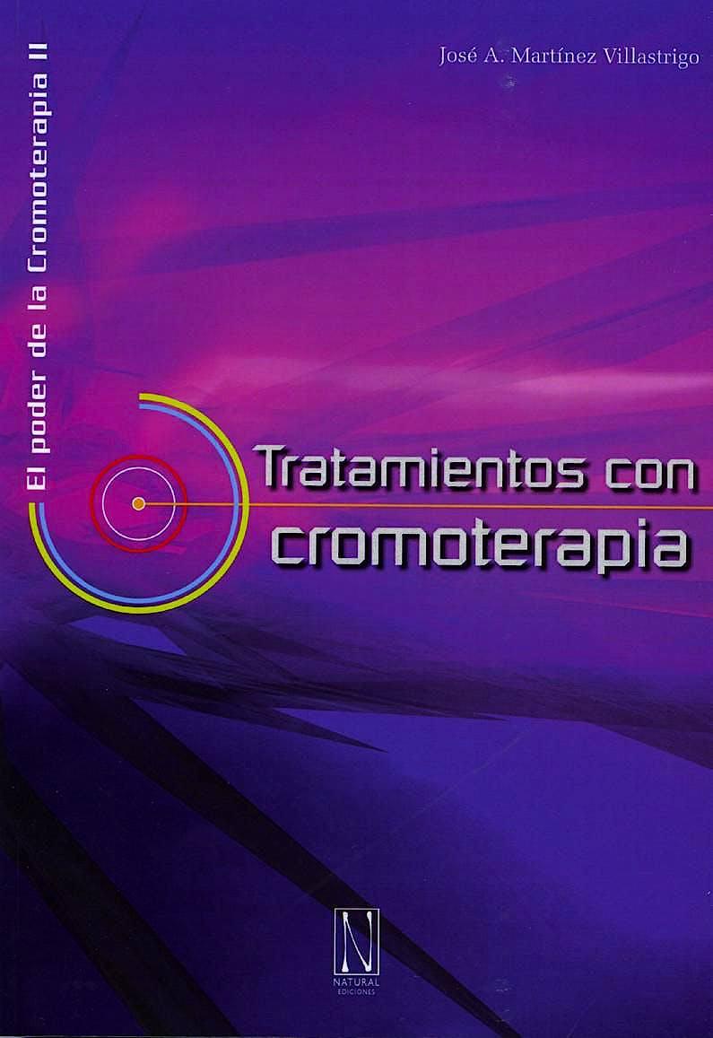 Portada del libro 9788493913243 Tratamientos con Cromoterapia