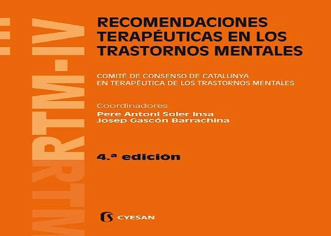 Portada del libro 9788493914219 RTM-IV. Recomendaciones Terapéuticas en los Trastornos Mentales