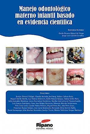 Portada del libro 9788493927516 Manejo Odontologico Materno Infantil Basado en Evidencia Cientifica