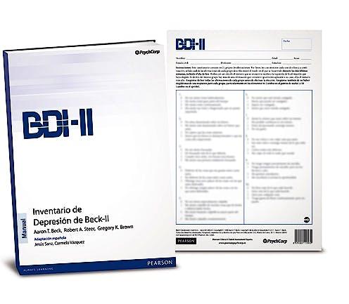 Portada del libro 9788493931544 BDI-II. Inventario de Depresión de Beck-II (Juego Completo)