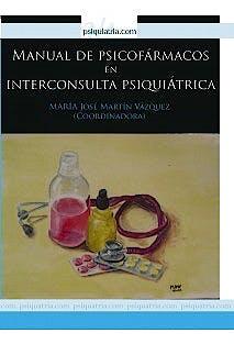 Portada del libro 9788493948375 Manual de Psicofármacos en Interconsulta Psiquiátrica