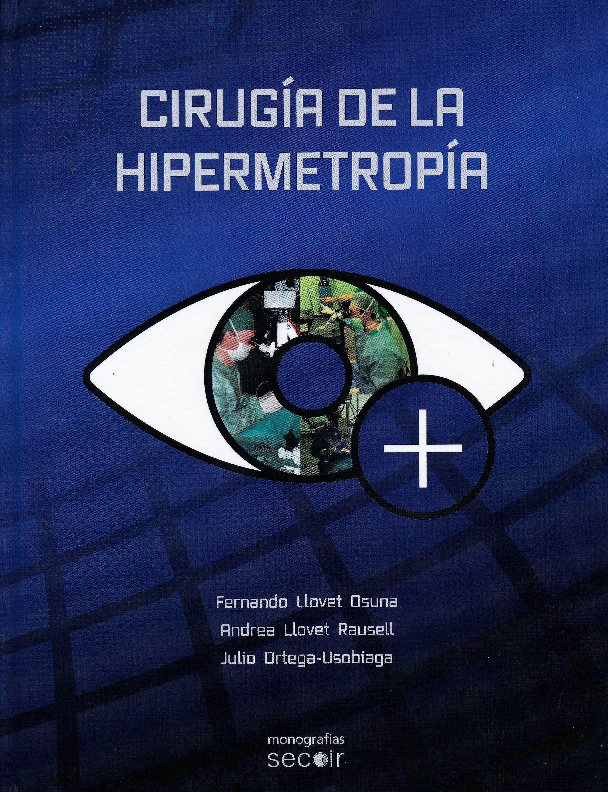 Portada del libro 9788493989842 Cirugía de la Hipermetropía
