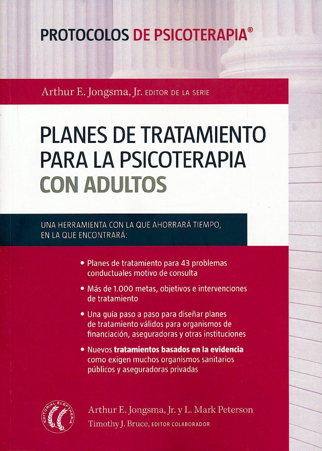 Portada del libro 9788494025051 Planes de Tratamiento para la Psicoterapia con Adultos (Protocolos de Psicoterapia)