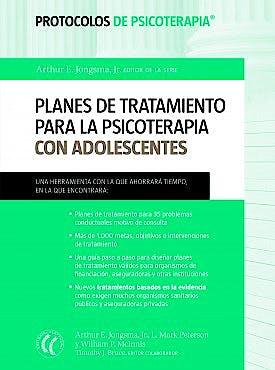 Portada del libro 9788494025075 Planes de Tratamiento para la Psicoterapia con Adolescentes (Protocolos de Psicoterapia)
