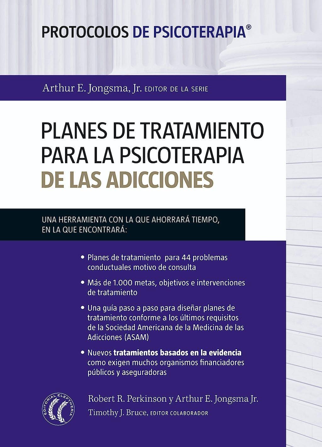 Portada del libro 9788494025099 Planes de Tratamiento para la Psicoterapia de las Adicciones (Protocolos de Psicoterapia)