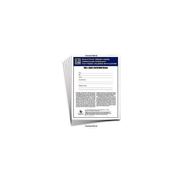 Portada del libro 9788494032240 Lista de Verificación del Curricula del Modelo Denver de Atención Temprana (Pack de 15 Juegos de Hojas de Respuestas)