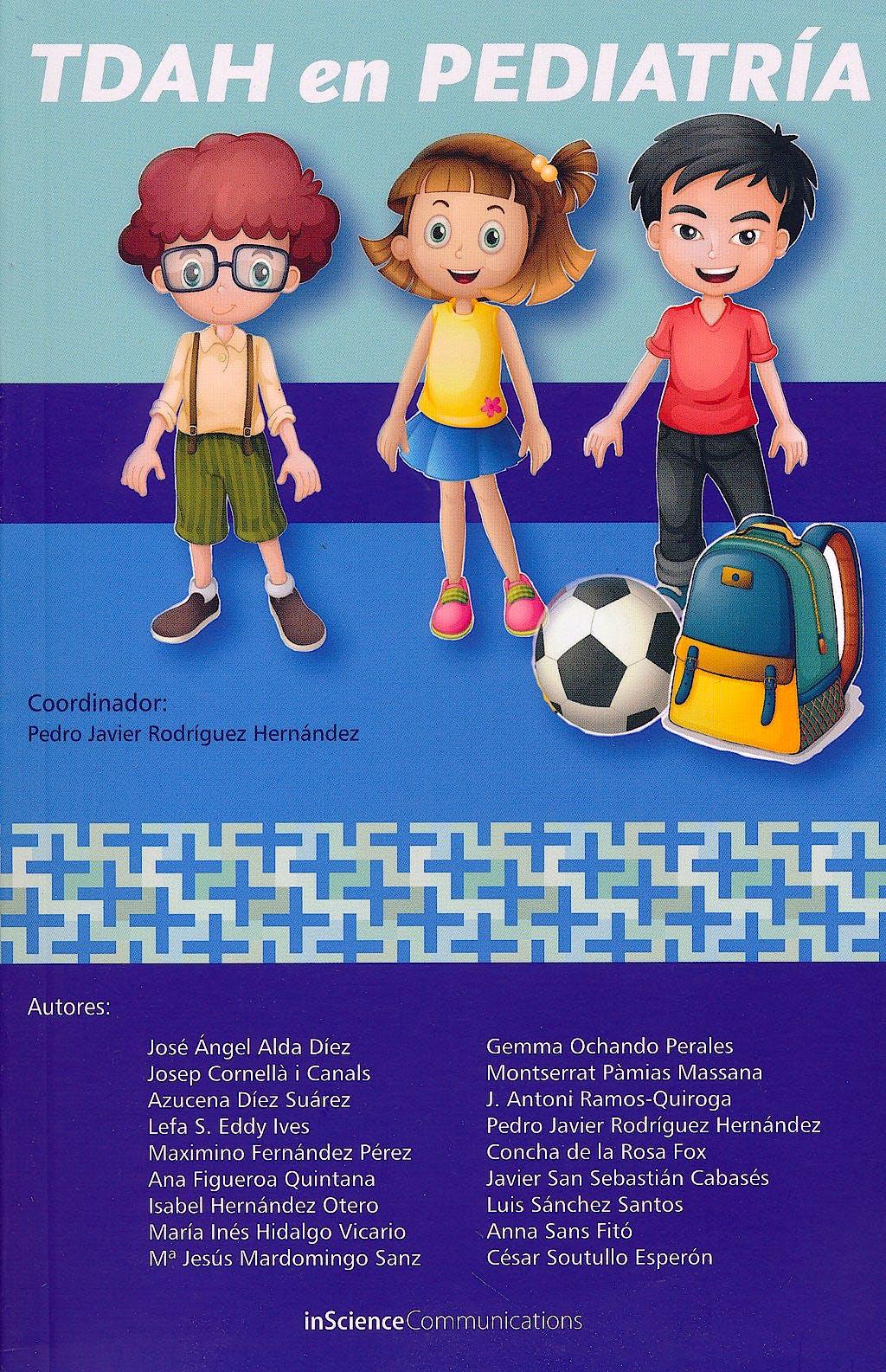 Portada del libro 9788494034640 TDAH en Pediatría
