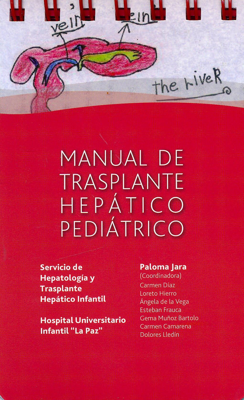 Portada del libro 9788494045028 Manual de Trasplante Hepático Pediátrico