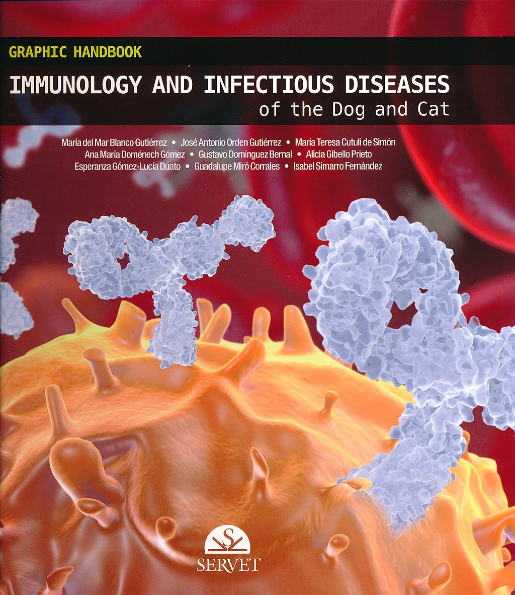 Portada del libro 9788494138904 Graphic Handbook Immunology and Infectious Diseases of the Dog and Cat
