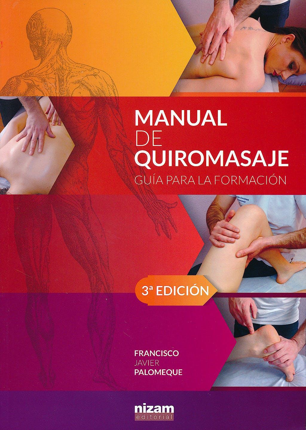 Portada del libro 9788494147845 Manual de Quiromasaje. Guía para la Formación