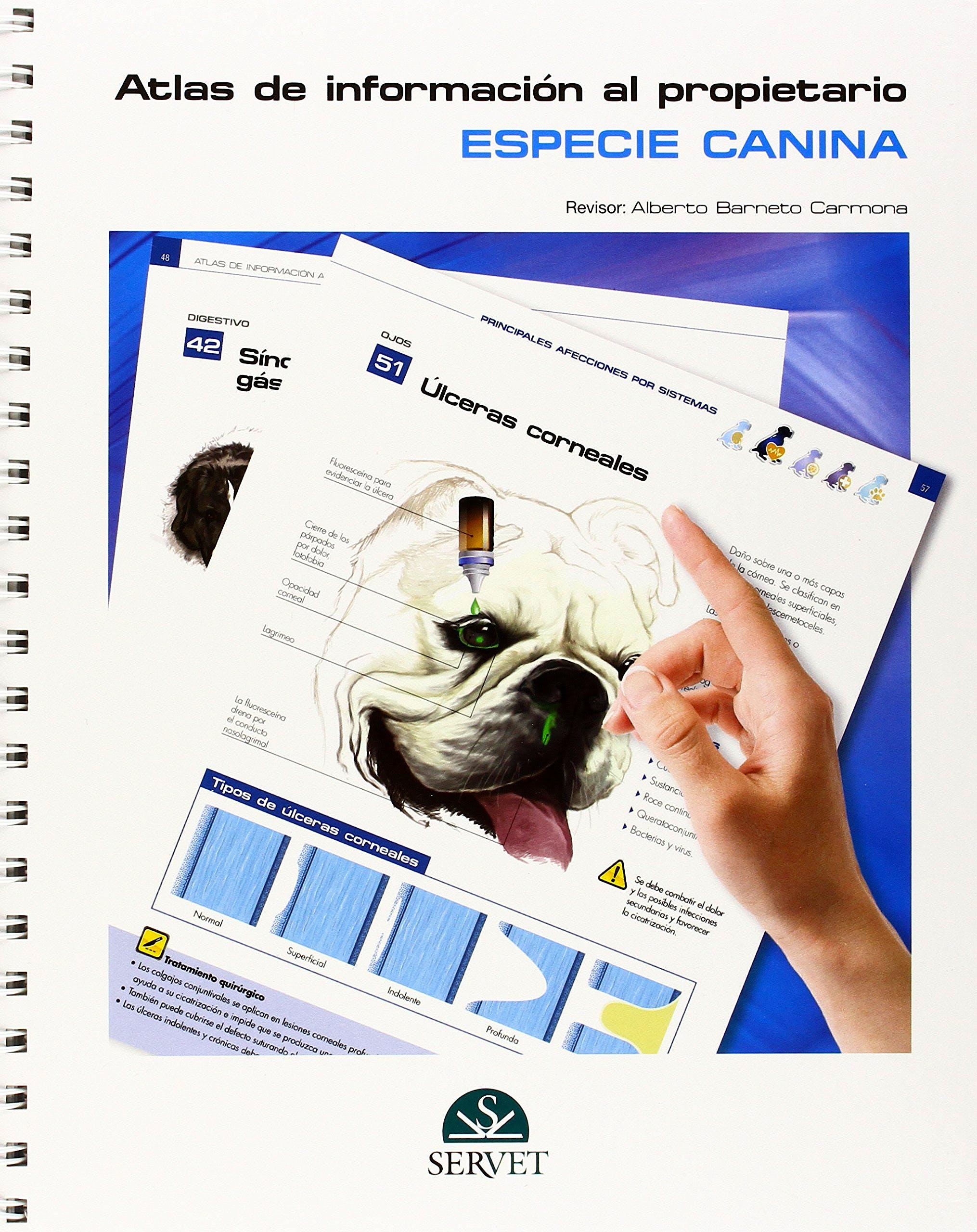 Portada del libro 9788494197598 Atlas de Informacion al Propietario. Especie Canina