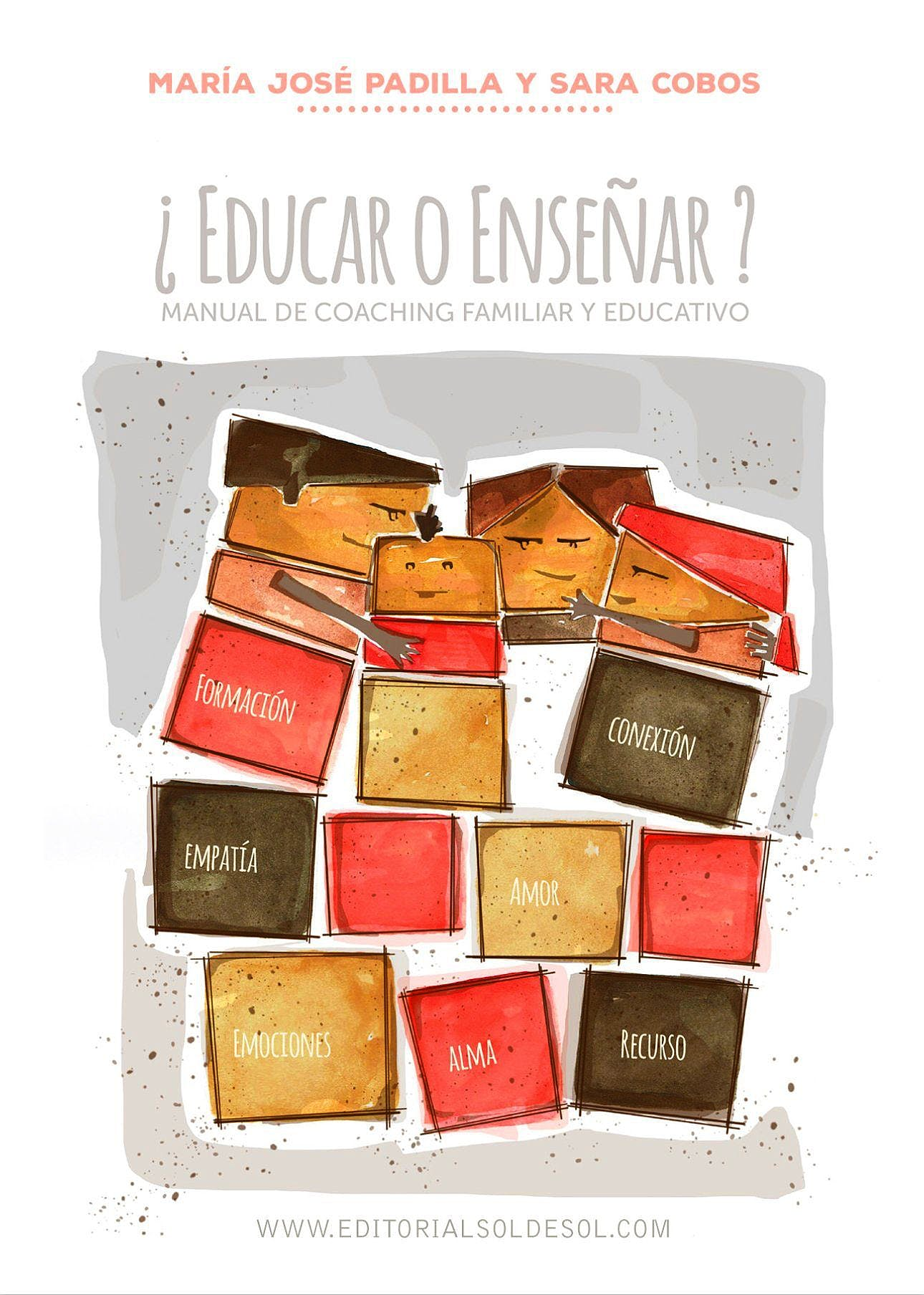 Portada del libro 9788494511981 ¿Educar o Enseñar? Manual de Coaching Familiar y Educativo