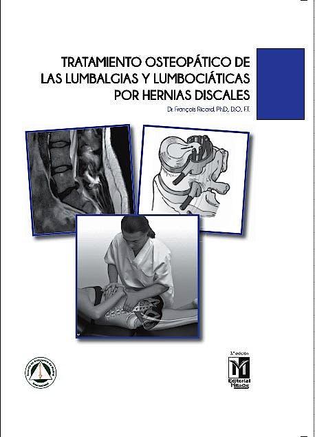 Portada del libro 9788494588273 Tratamiento Osteopático de las Lumbalgias y Lumbociáticas por Hernias Discales