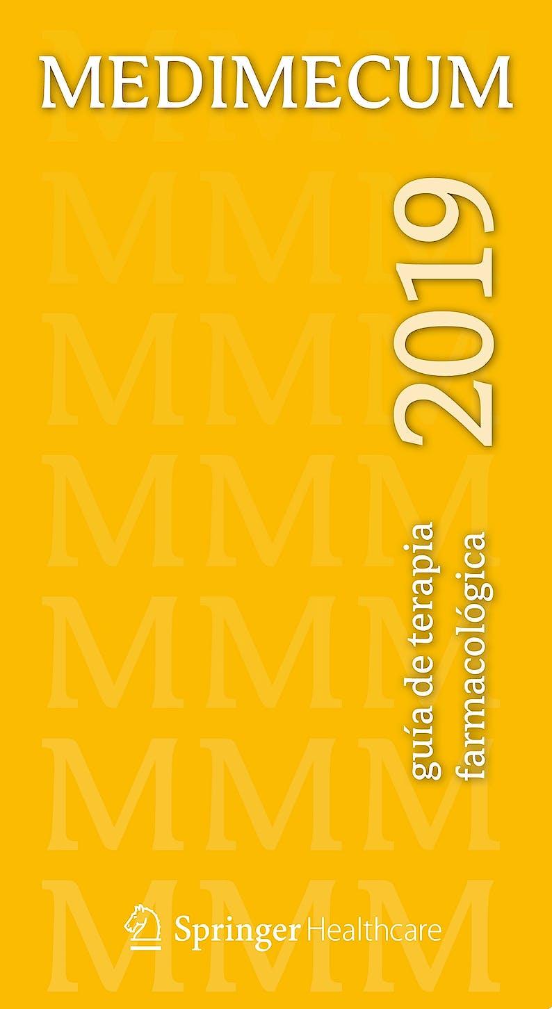 Portada del libro 9788494623448 MEDIMECUM 2019. Guía de Terapia Farmacológica