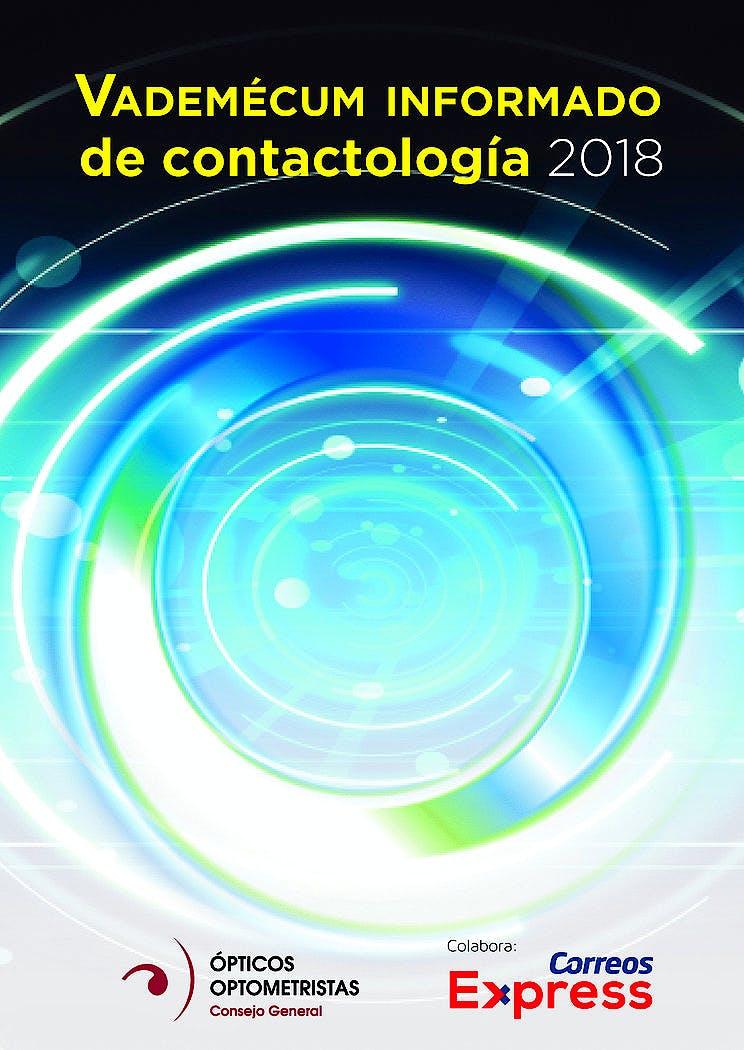 Portada del libro 9788494657252 Vademécum Informado de Contactología 2018