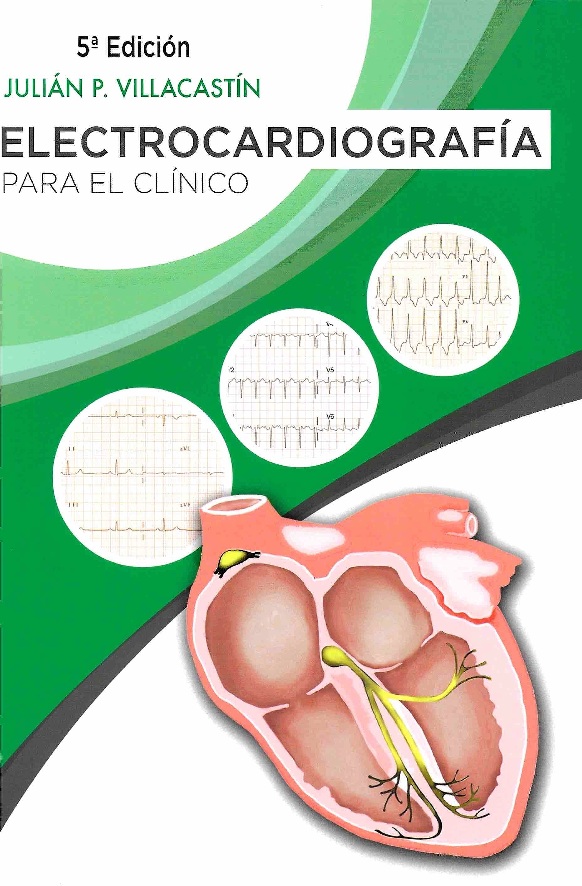 Portada del libro 9788494688768 Electrocardiografía para el Clínico