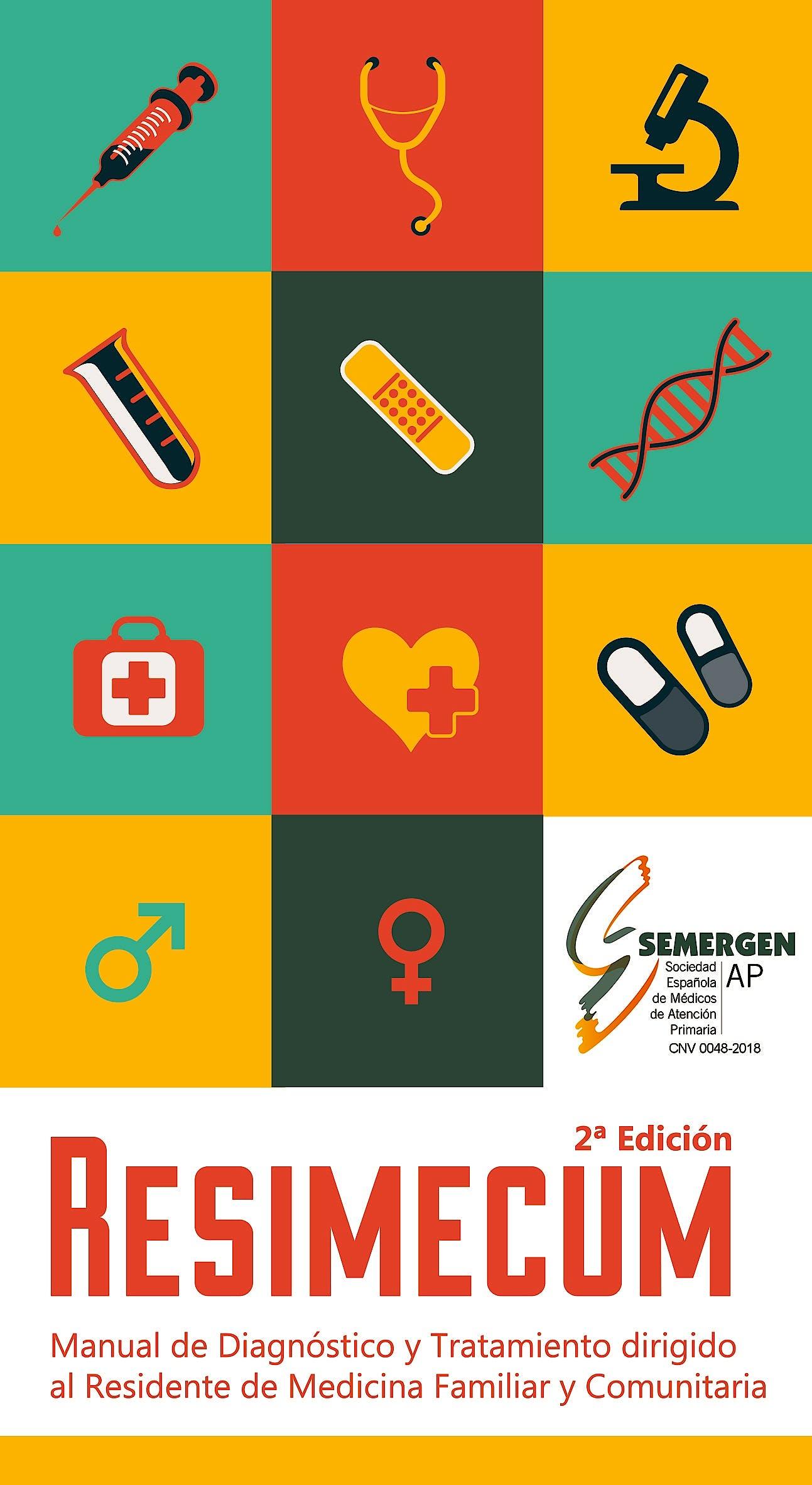 Portada del libro 9788494750946 RESIMECUM. Manual de Diagnóstico y Tratamiento Dirigido al Residente de Medicina Familiar y Comunitaria