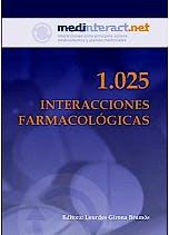 Portada del libro 9788495062673 1025 Interacciones Farmacologicas