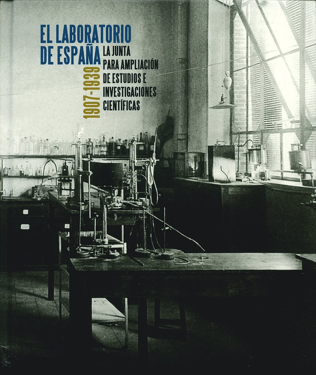 Portada del libro 9788495078582 El Laboratorio de España 1907-1939