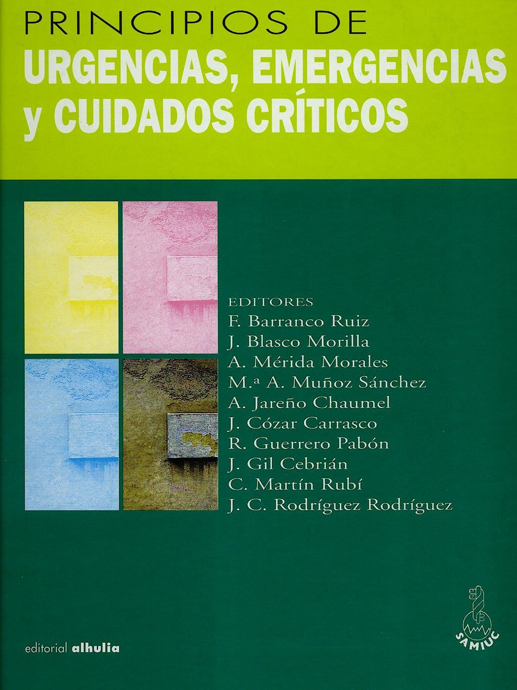 Portada del libro 9788495136152 Principios de Urgencias, Emergencias y Cuidados Criticos
