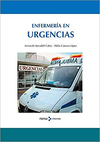 Portada del libro 9788495275851 Enfermería en Urgencias