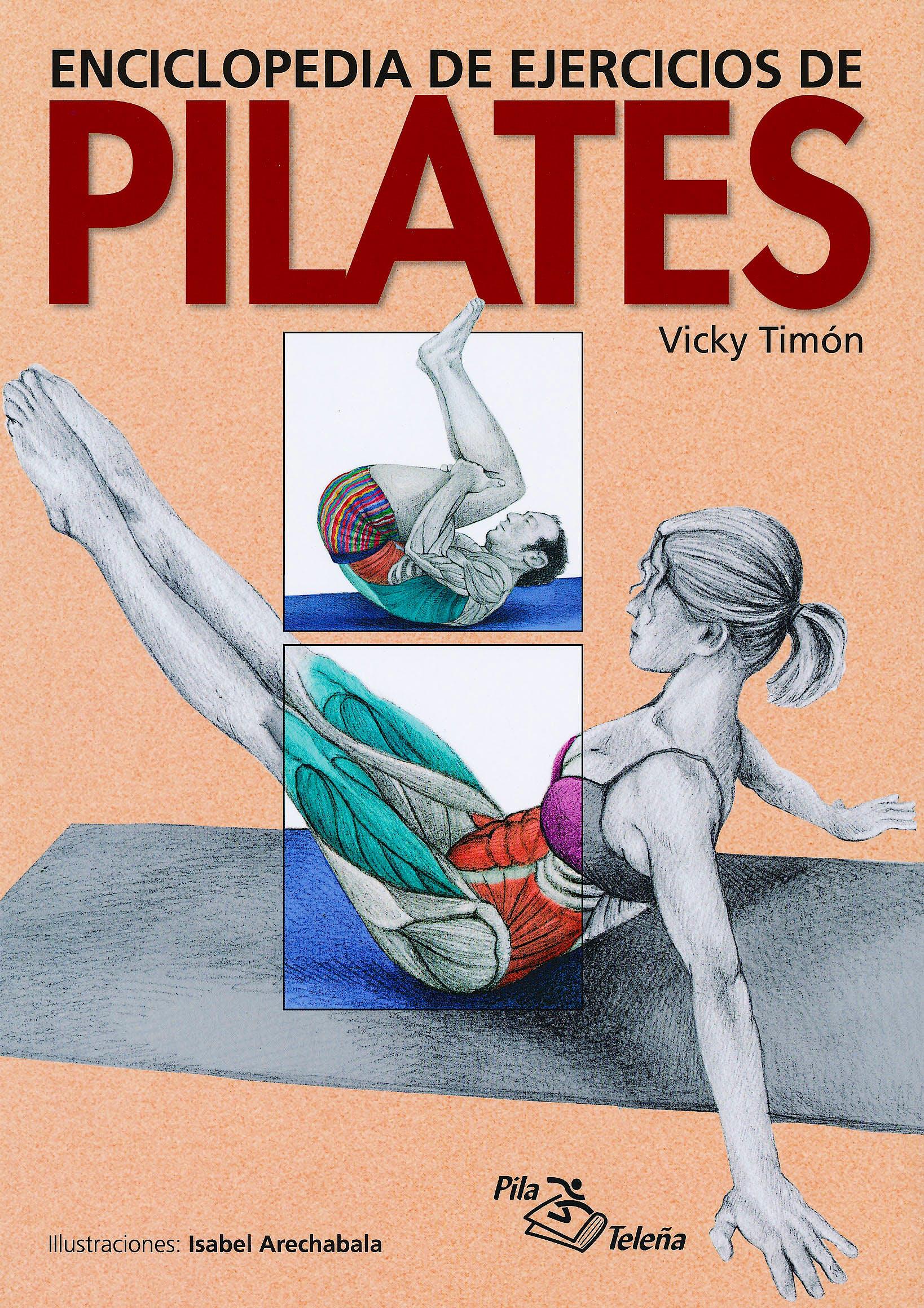 Portada del libro 9788495353436 Enciclopedia de Ejercicios de Pilates