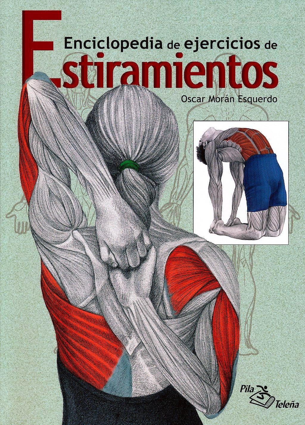 Portada del libro 9788495353610 Enciclopedia de Ejercicios de Estiramientos