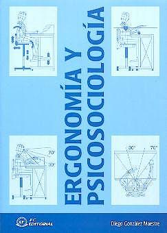 Portada del libro 9788495428950 Ergonomia y Psicosociologia