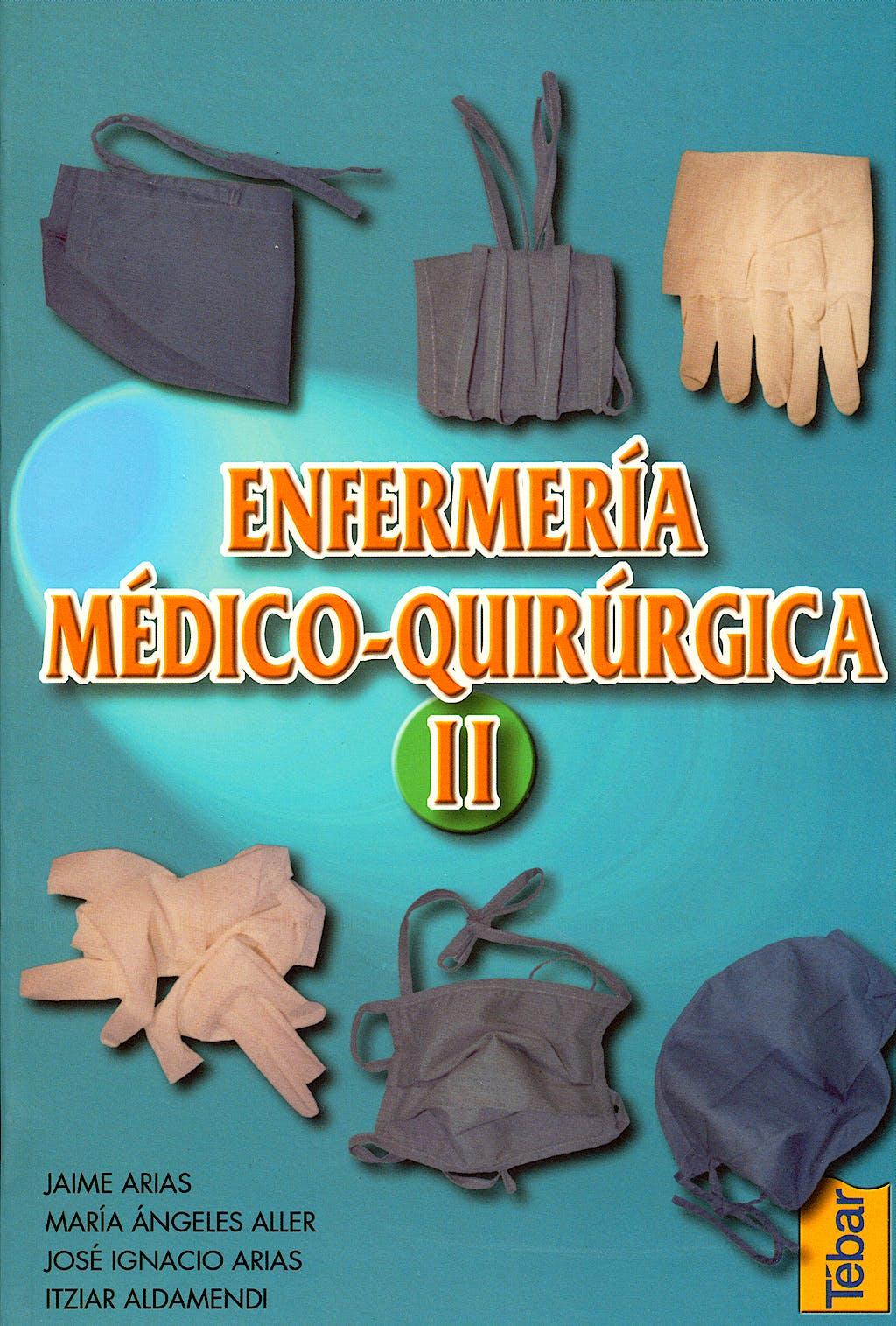 Portada del libro 9788495447043 Enfermeria Medico-Quirurgica, Vol. 2