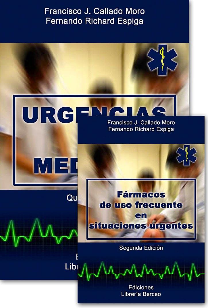 Portada del libro 9788495548047 Urgencias en Medicina + Fármacos de Uso Frecuente en Situaciones Urgentes